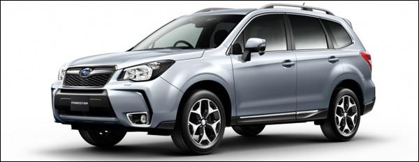 Subaru autosalon brussel 2013 forester xv trezia legacy outback brz wrx sti
