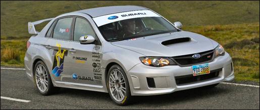 Subaru WRX STI Mountain Course