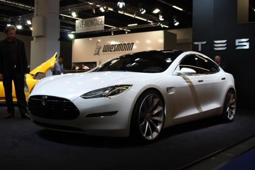 Frankfurt 2009 Tesla Model S