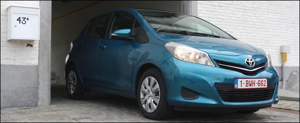 Rijtest: Toyota Yaris 2012