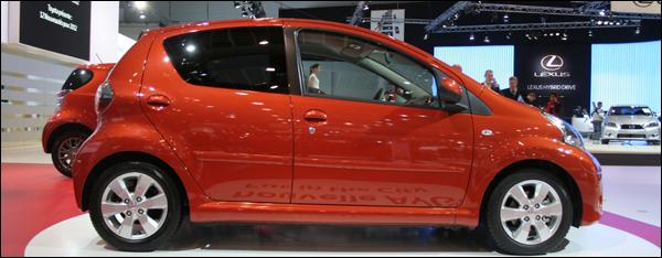 Toyota Aygo Autosalon Brussel 2012