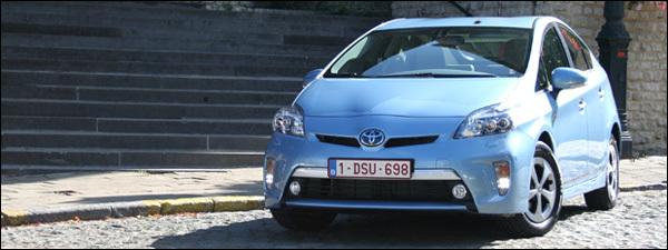 Test Toyota Prius Plug-in Hybrid 2013