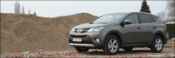 Toyota RAV4 2013 test rijtest