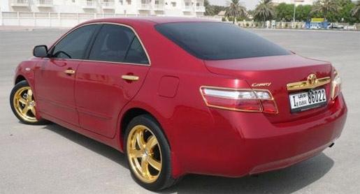 Gouden Toyota