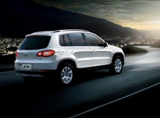 Volkswagen Tiguan Facelift China