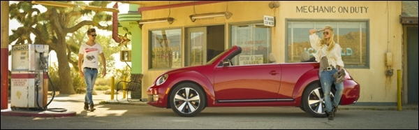 Volkswagen Beetle Cabrio 2013