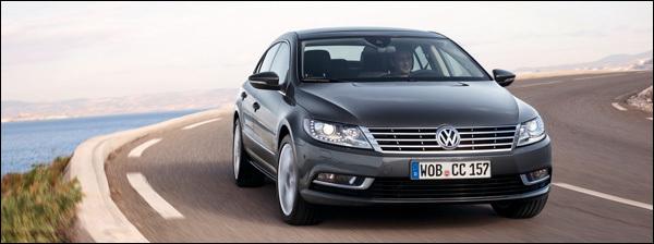 Volkswagen CC 2012 test