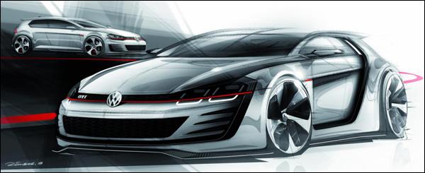 Volkswagen Design Vision GTI Concept
