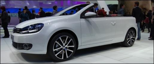Volkswagen Golf Cabrio Geneva