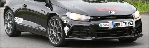 Spyshots: Volkswagen Scirocco R20T