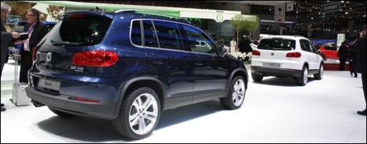 Volkswagen Tiguan Facelift Geneva
