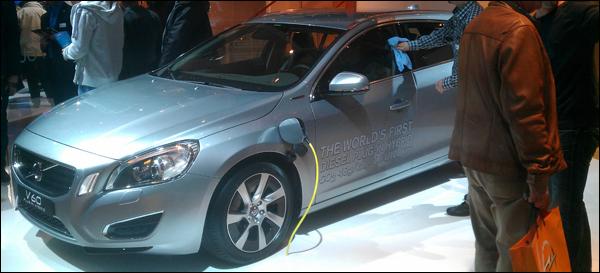 Volvo autosalon Brussel 2013