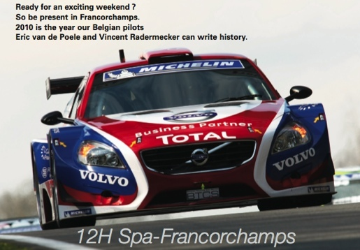Spa Francorchamps Volvo S60 BTCS 12uren