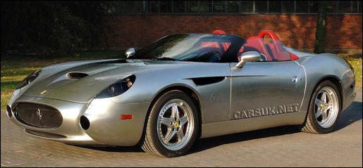 Ferrari 550 Zagato GTZ