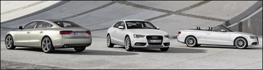 Audi A5 Facelift 2012
