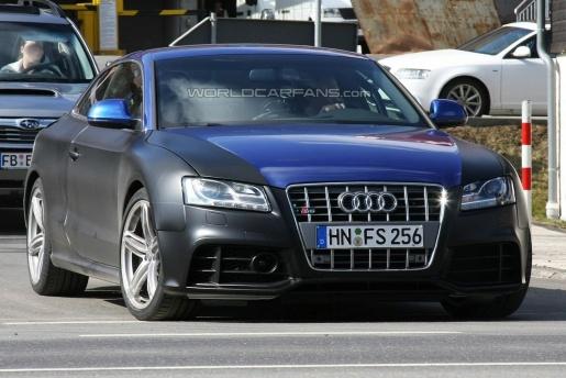 Spyshots: Audi RS5