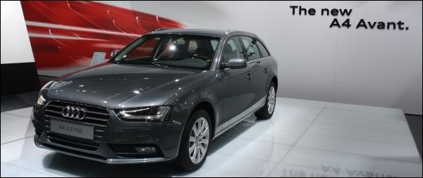 Audi Autosalon Brussel 2012