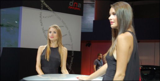 Babes Autosalon Frankfurt - Deel 2
