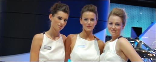 Babes Frankfurt IAA 2011