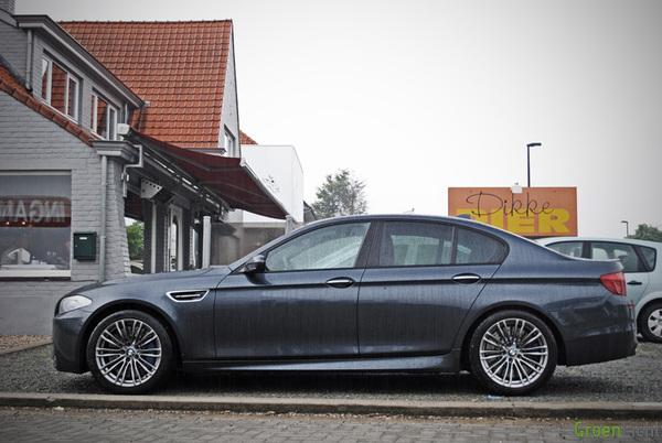 Gespot BMW M5 F10
