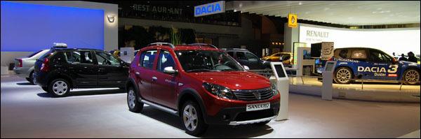 Dacia Autosalon Brussel 2012