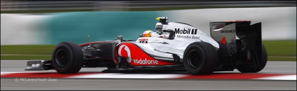 Lewis Hamilton Sepang 2012