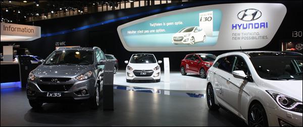 Hyundai Autosalon Brussel 2013