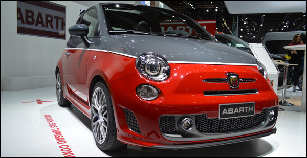 Abarth Autosalon Brussel
