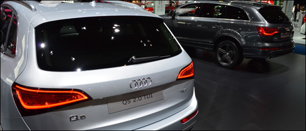 Audi Autosalon Brussel 2013
