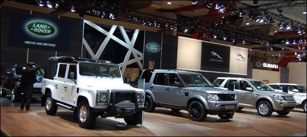 Land Rover Autosalon Brussel