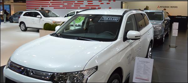 Mitsubishi Autosalon Brussel