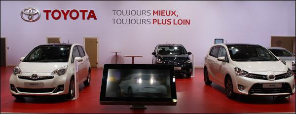 Toyota Autosalon Brussel 2013