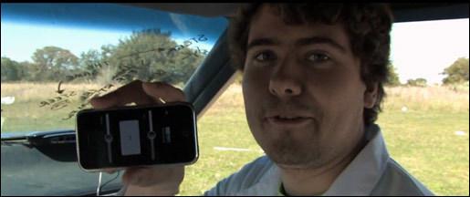 iPhone auto control