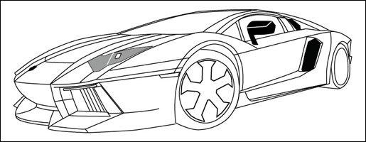 Lamborghini LP700 Aventador impression