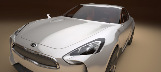 Kia Sports Sedan Concept Frankfurt 2011