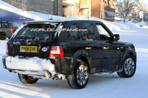 Range Rover Sport Land Rover Discovery Spyshots