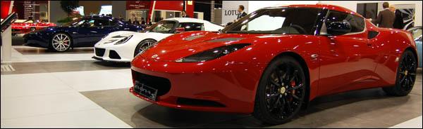 Lotus Autosalon Brussel 2012