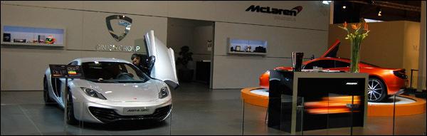McLaren Autosalon Brussel 2012