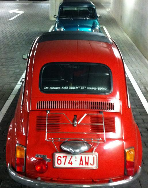 Fiat 500 - Mini Cooper oldschool