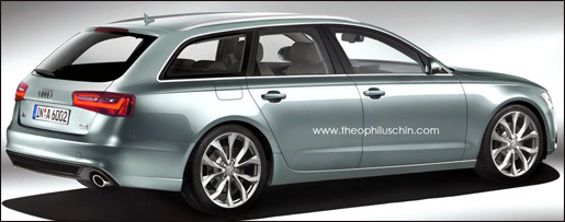 nieuwe Audi A6 Avant preview
