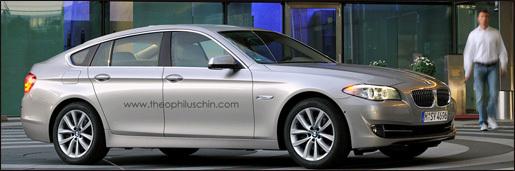 nieuwe BMW 5-Reeks GT