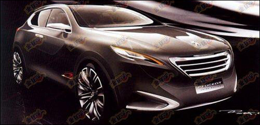 Peugeot Crossover Concept Shanghai
