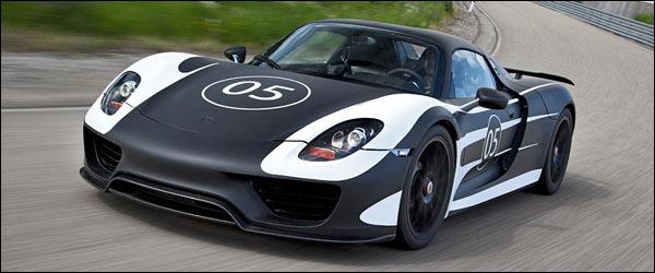 Porsche 918 Spyder 2012