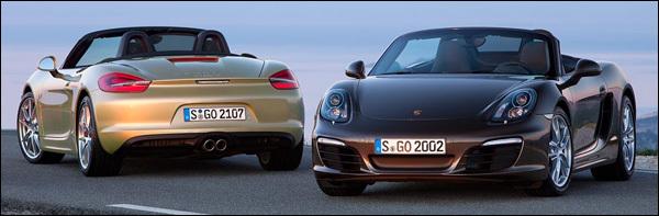 Porsche Boxster 2012 981