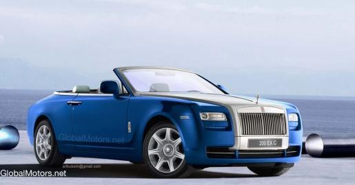Rolls-Royce 200 EX Cabrio Coupé