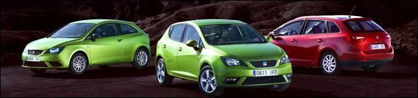 Seat Ibiza 2012 Facelift