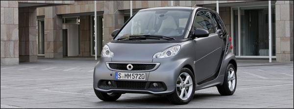 Smart Fortwo 2012 Facelift