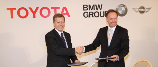 Toyota and BMW sign agreement
