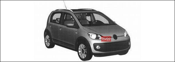 Volkswagen Up! Vijfdeurs Five-door 2012