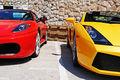 Lamborghini Gallardo - Ferrari F430 Spider